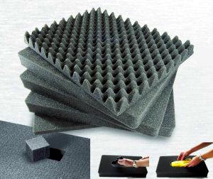 w rfelschaum einlagen f r alukisten alutransportsysteme. Black Bedroom Furniture Sets. Home Design Ideas